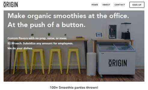 Создание шаблона бизнес-плана Smoothie Company