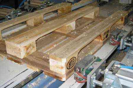 Начало бизнеса по переработке деревянных поддонов