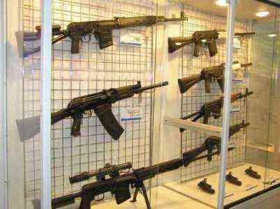 Начиная бизнес и ассортимент оружия
