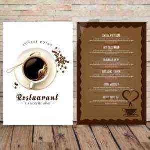 Образец шаблона маркетингового плана кафе