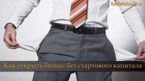 Как стать предпринимателем и владельцем бизнеса без денег