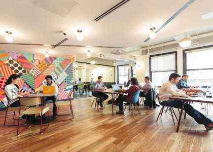 Создание компании с общим рабочим пространством