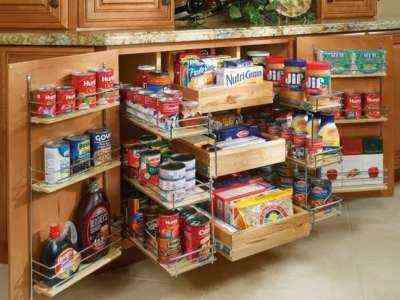 Начать продовольственной кладовой в домашних условиях