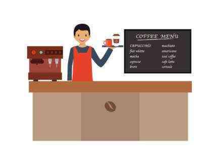 Начиная бизнес кафе Сколько это стоит?