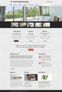 Создание шаблона бизнес-плана Home Staging Company.