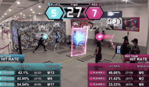 Начиная бизнес-центр Laser Tag Game Center