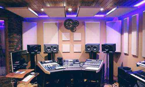 Начало студии звукозаписи на дому без денег