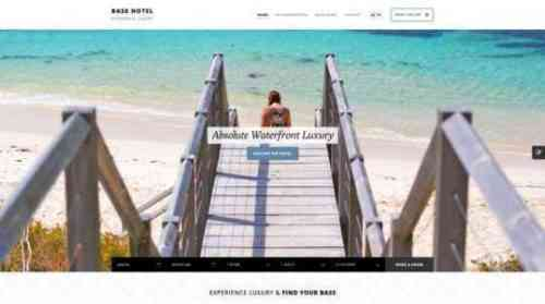 Образец шаблона бизнес-плана Beach Resort