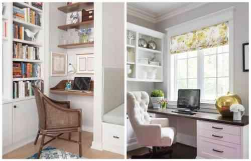 Как организовать пространство домашнего офиса, стол и файлы
