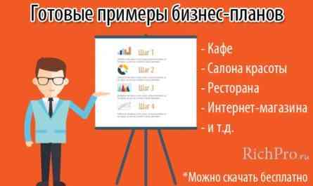 Создание онлайн-лотереи - образец бизнес-плана